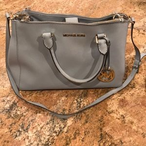 Powder Blue Michael Kors Purse
